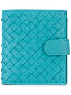 текстурный кошелек Bottega Veneta