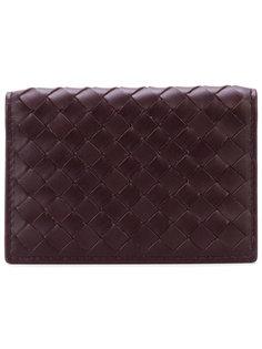 текстурный кошелек с плетеным дизайном Bottega Veneta
