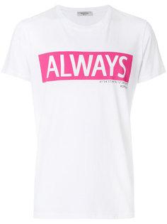 футболка с принтом Always Valentino