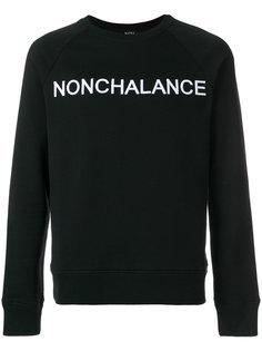 толстовка с вышивкой Nonchalance Nº21
