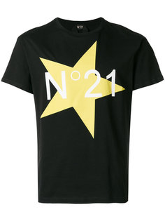 футболка с логотипом Star Nº21
