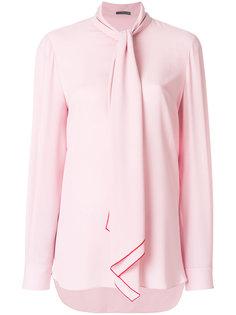 блузка с завязками  Alexander McQueen
