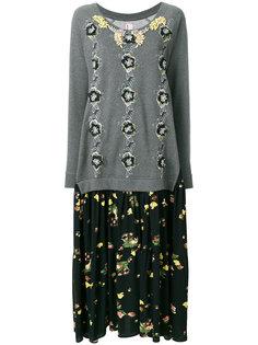 платье с цветочным принтом Abito Rapa Antonio Marras