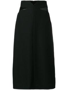 удлиненная юбка с завышенной талией Maison Margiela