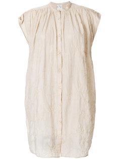удлиненная рубашка без рукавов  Forte Forte