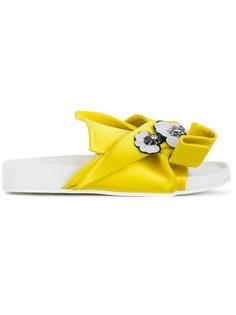 декорированные сандалии с бантом Nº21