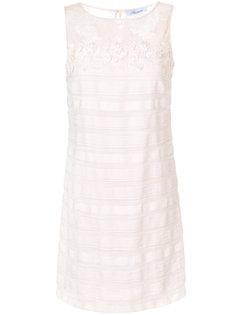 декорированное платье-шифт Blumarine