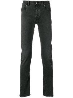 джинсы узкого кроя с выцветшим эффектом Diesel Black Gold