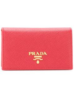 складная визитница Prada