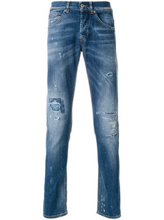 distressed effect jeans  Dondup