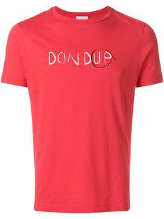 logo print T-shirt  Dondup