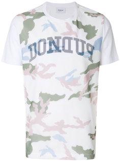 футболка с принтом логотипа Dondup