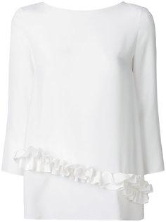 блузка с рюшами  Lanvin