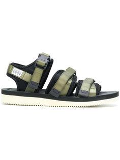 сандалии на липучках Suicoke
