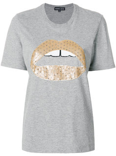 футболка с пайетками Alex Markus Lupfer