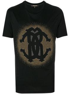 футболка с графическим принтом  Roberto Cavalli
