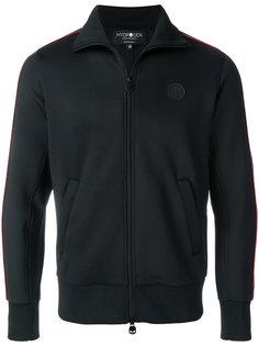 портивная куртка с полосками на рукавах Hydrogen