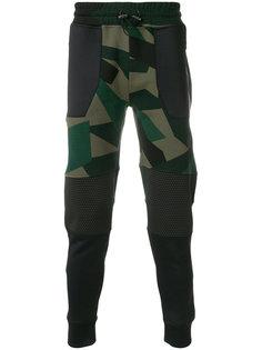спортивные брюки с камуфляжным принтом Hydrogen