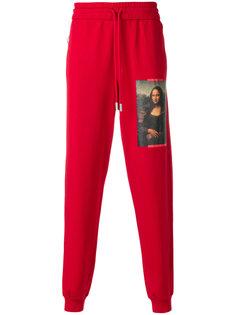 спортивные брюки с принтом Monalisa Off-White
