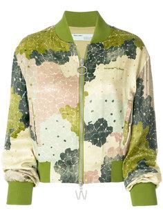 куртка-бомбер с цветочным принтом Off-White