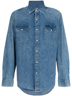 джинсовая рубашка Western Calvin Klein Jeans