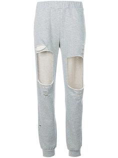 спортивные брюки с вырезом Forte Couture