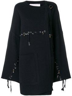 пиджак с декоративной строчкой и кольцами  Chloé