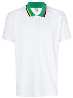 футболка-поло с контрастным воротником Kenzo