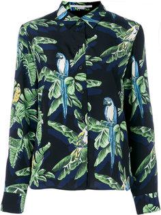 рубашка с тропическим принтом  Stella McCartney