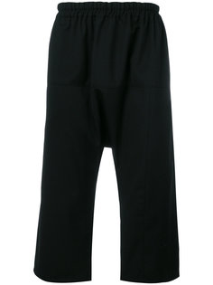cropped straight-leg trousers Raf Simons