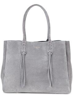 плетеная сумка-тоут Lanvin