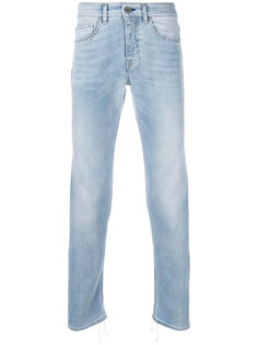 faded slim-fit jeans Pence