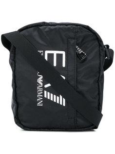 сумка на плечо с логотипом Ea7 Emporio Armani