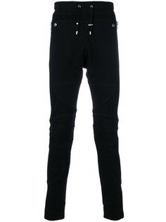 спортивные брюки с сетчатыми панелями Balmain