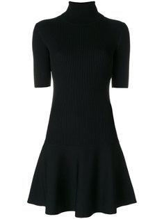 платье в рубчик с отворотной горловиной Michael Michael Kors