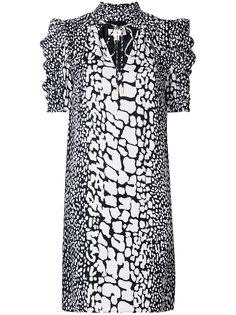 платье шифт с пятнистым узором Michael Michael Kors