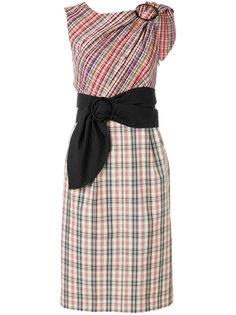 платье в клетку  Isa Arfen