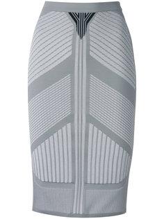 юбка с вышивкой  Prada