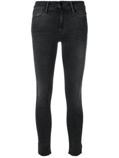 джинсы скинни с разрезами  Frame Denim
