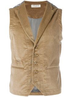 fitted buttoned waistcoat Al Duca D'Aosta 1902