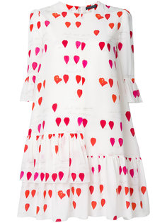 petal print dress Alexander McQueen