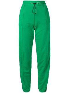 спортивные брюки с полосками по бокам MSGM