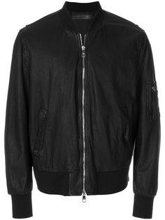 куртка-бомбер с потертой отделкой Neil Barrett