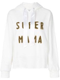 толстовка с капюшоном Super Mama Forte Couture