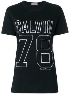спортивная футболка с логотипом  Calvin Klein Jeans