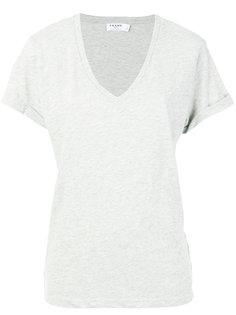 футболка с V-образным вырезом Frame Denim