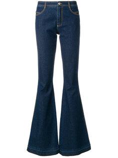 расклешенные джинсы с завышенной талией Ermanno Scervino
