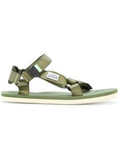атласные сандалии Suicoke