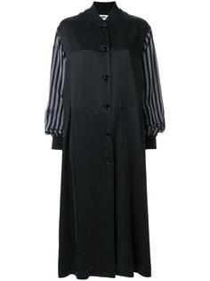 платье-бомбер с расклешенными рукавами  Mm6 Maison Margiela