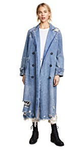 Denim x Alexander Wang Trench Coat